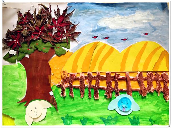 幼儿园主题墙饰设计活动
